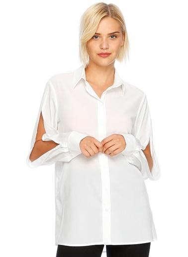 Beymen Studio Bluz Beyaz